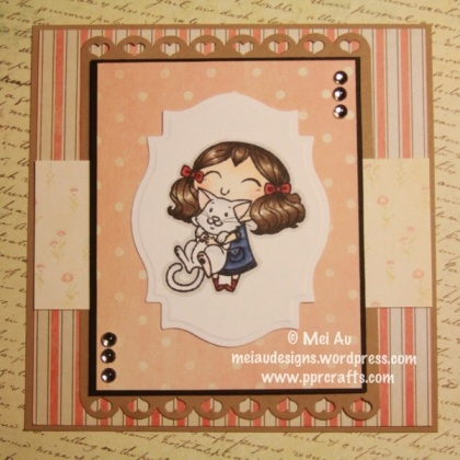 urever Friends stamp set from The Greeting Farm TGF