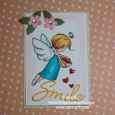 A Day for Daisy and I'm using the image Love Angel.
