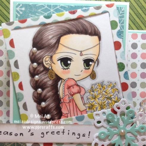 ArtbyMiran Center Fold Card