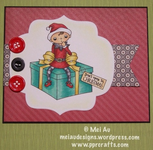 Stampart Designs and I'm using the digi Christmas Surprise!