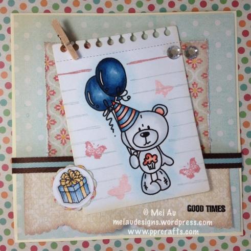 Bugaboo Teddy Balloons
