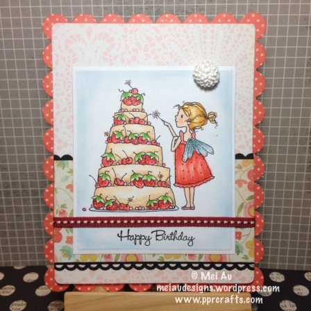 A Day for Daisies ADFD Strawberry Cake Birthday Fairy