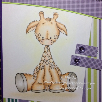Lee H Illustrations Baby Giraffe