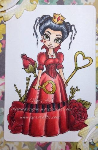 Faery Ink Queen of Hearts