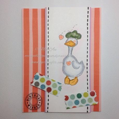 QKR Stampede, Stitched Goose