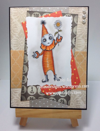 Euro Clown with Flower, Rick St Denis, MFT Blueprints, MME