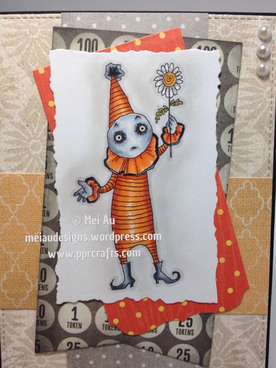 Euro Clown with Flower, Rick St Denis, MFT Blueprints, MME