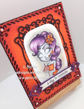 Spellbinders, Stamping Chef, Valiant Order, Zombie Bday Betty