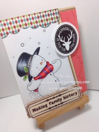 Lee's H Illustrations, MFT, MME, Snowman Digi