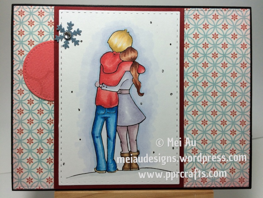 Sami Satmps, Winter Romance, SSS Stitched Rectangles