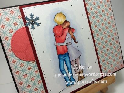 Sami Satmps, Winter Romance, SSS Stitched Rectangles
